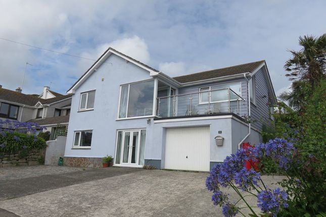 Thumbnail Detached house for sale in Prevenna Road, Mousehole, Penzance