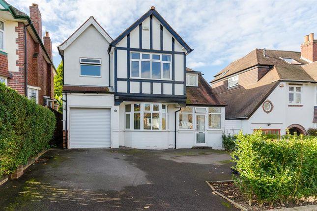 Thumbnail Detached house for sale in Ellesboro Road, Harborne, Edgbaston