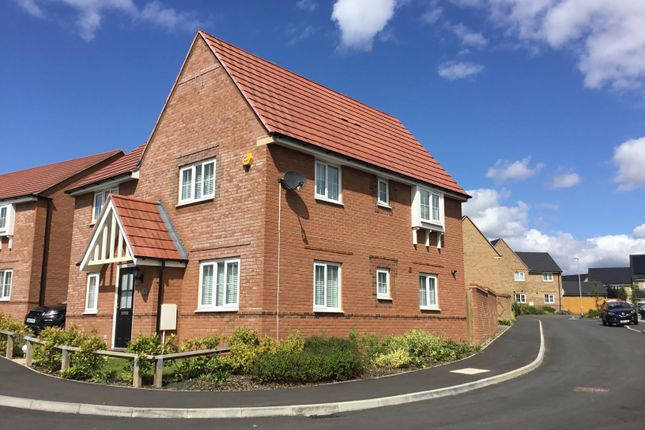 Thumbnail Detached house to rent in Stanley Close, Corby