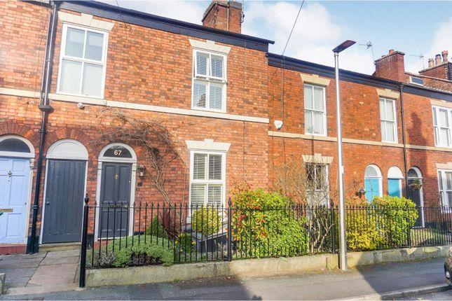 Thumbnail Terraced house for sale in Prestbury Road, Macclesfield