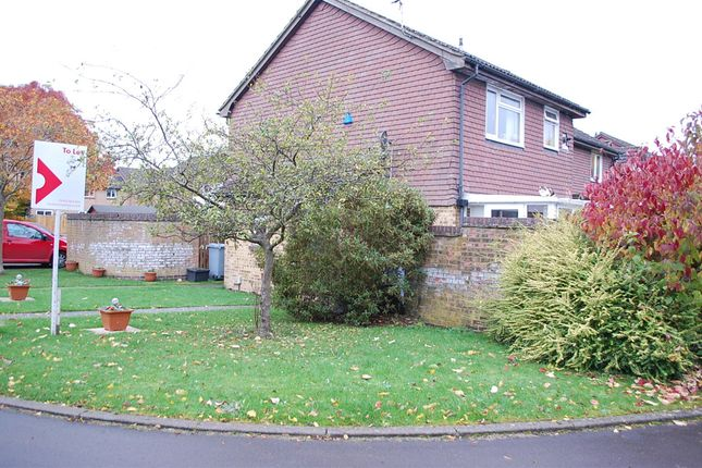 Thumbnail End terrace house to rent in Strathmore Close, Carterton, Oxfordshire