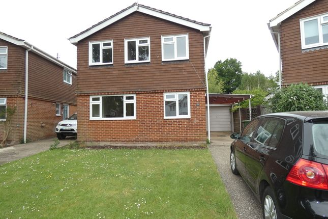 Thumbnail Detached house to rent in Kelsey Close, Liss
