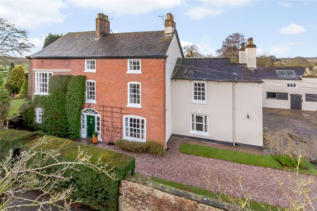 Thumbnail Detached house for sale in School Lane, Ollerton, Knutsford, Cheshire