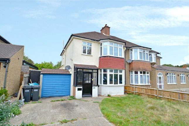Thumbnail Semi-detached house for sale in Ridgemount Avenue, Croydon