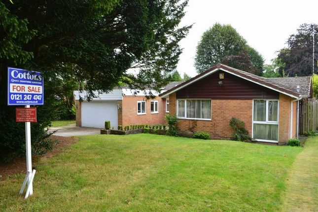 Thumbnail Detached bungalow for sale in Antringham Gardens, Edgbaston, Birmingham
