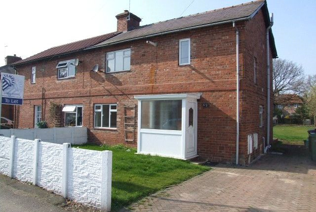 3 bed semi-detached house for sale in West Avenue, Rudheath, Northwich CW9