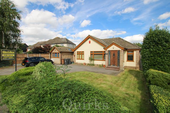 Thumbnail Detached bungalow for sale in Church Road, Ramsden Heath, Billericay