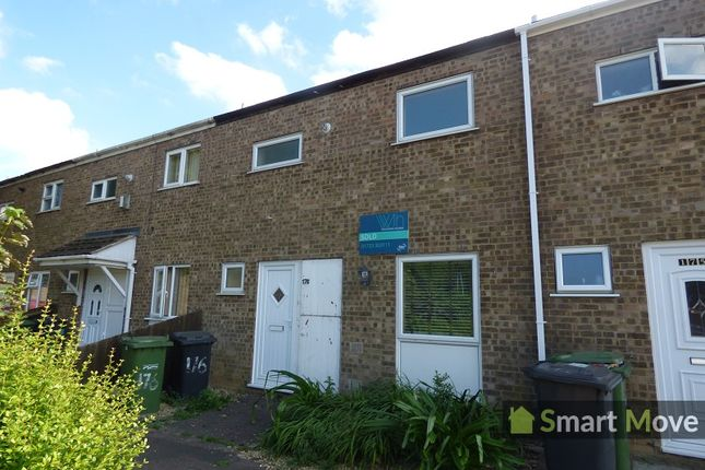 Thumbnail Terraced house to rent in Watergall, Bretton, Peterborough, Cambridgeshire.