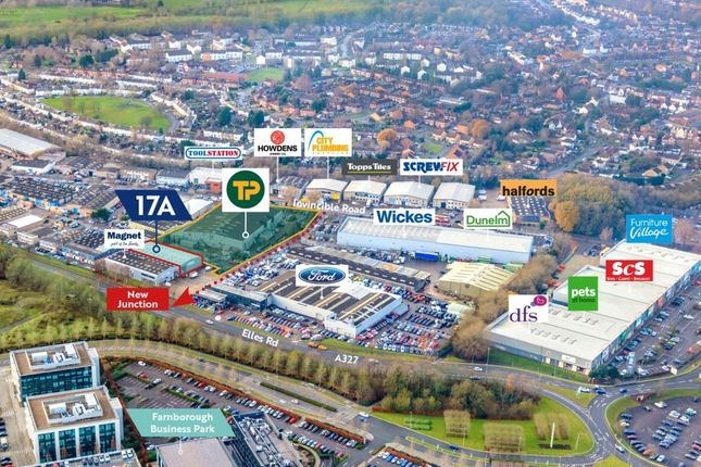 Thumbnail Warehouse to let in 17A Invincible Road, Farnborough, South East
