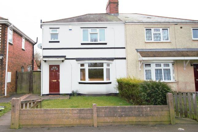 Thumbnail Semi-detached house to rent in Coronation Road, Bilston