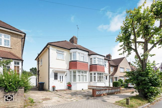 Thumbnail 3 bed semi-detached house for sale in Montpelier Rise, Wembley