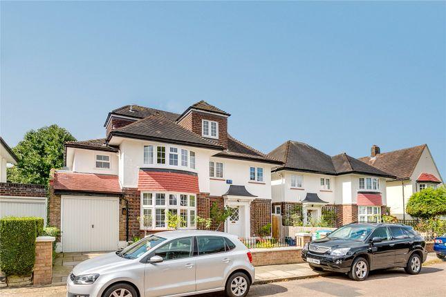 Thumbnail Detached house to rent in Hood Avenue, Mortlake, London