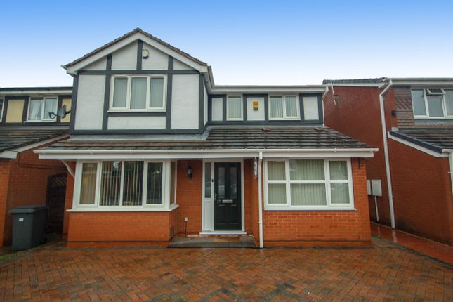 Thumbnail Detached house for sale in Nairn Close, Stenson Fields, Derby
