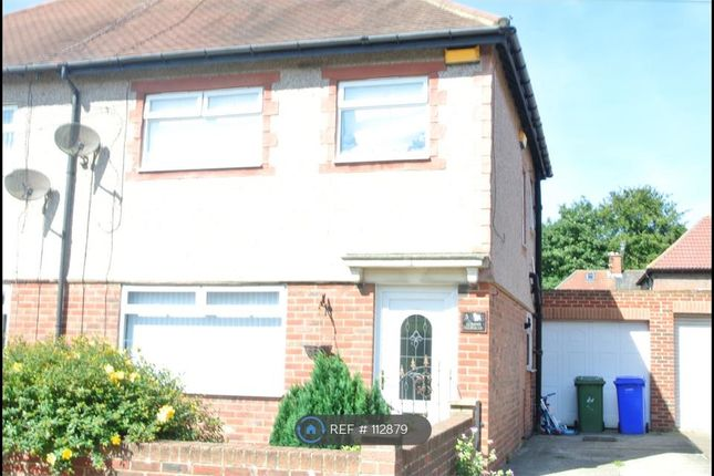 Thumbnail Semi-detached house to rent in Queen's Gardens, Blyth