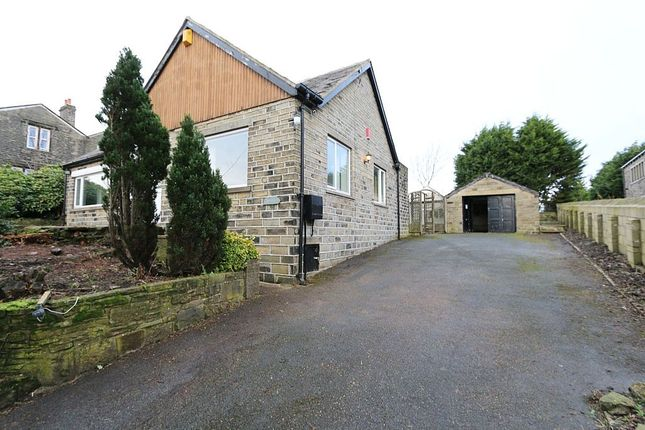 Thumbnail Detached bungalow for sale in High Street, Stainland, Halifax, West Yorkshire