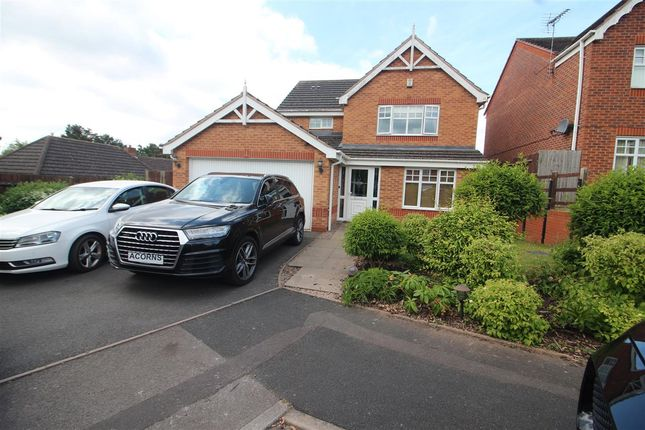 Thumbnail Detached house for sale in Katsura Close, Streetly, Sutton Coldfield