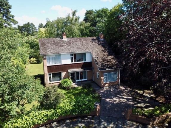 Thumbnail Detached house for sale in Churchfields, Sandiway, Northwich, Cheshire