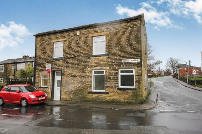 Thumbnail End terrace house to rent in School Green, Thornton, Bradford
