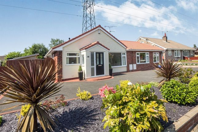 Thumbnail Detached bungalow for sale in Selkirk Avenue, Eastham, Wirral