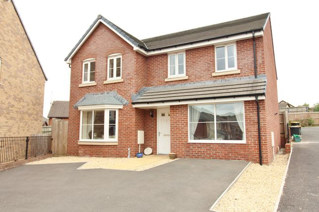 Thumbnail Detached house for sale in Bailey Crescent, Langstone, Newport