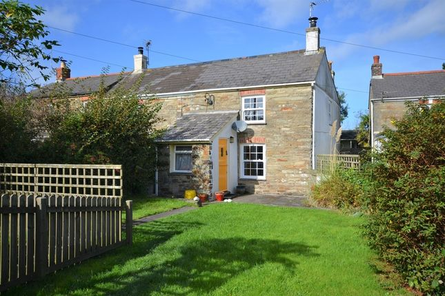 Thumbnail End terrace house for sale in Goonbell, St Agnes, Cornwall