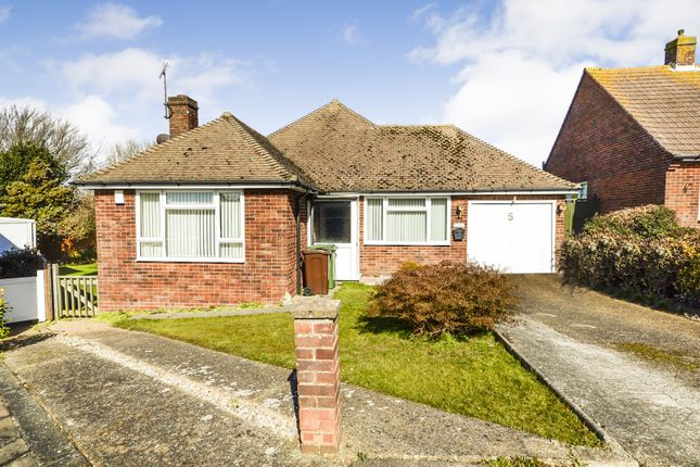 Thumbnail Detached bungalow for sale in Hunting Close, Bexhill-On-Sea