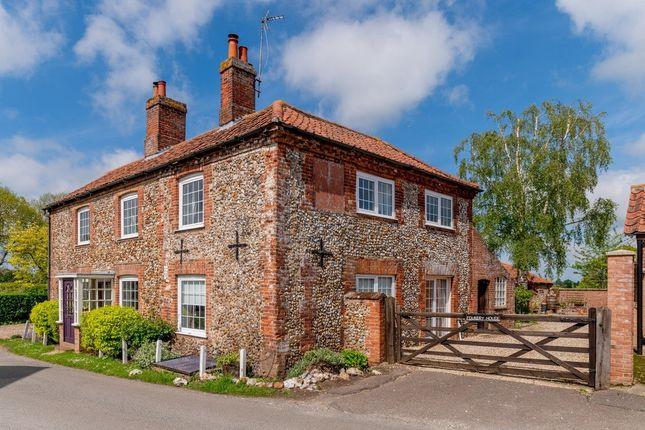 Thumbnail Detached house for sale in The Street, West Raynham, Fakenham