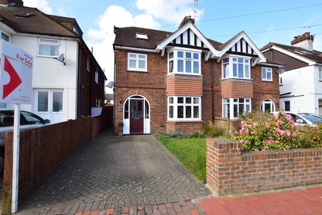 Thumbnail Semi-detached house for sale in East Cliff Road, Tunbridge Wells, Kent
