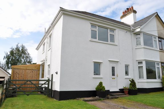 Thumbnail Semi-detached house for sale in Honiton Road, Cullompton