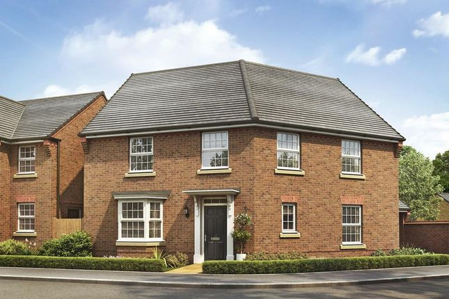 "Thumbnail Detached house for sale in ""Ashtree"" at Stonnyland Drive, Lichfield"