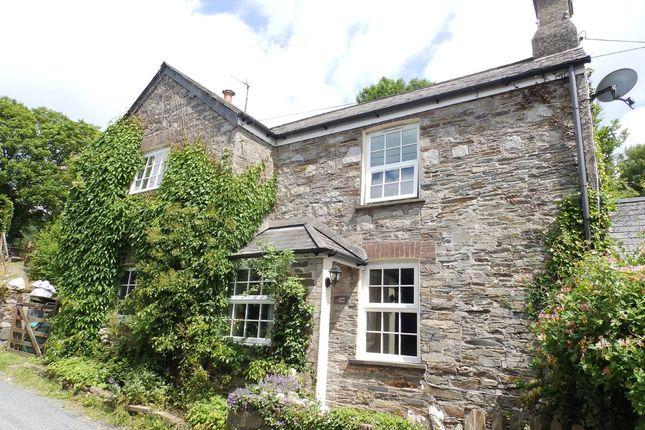 Thumbnail Cottage for sale in Horsebridge, Tavistock