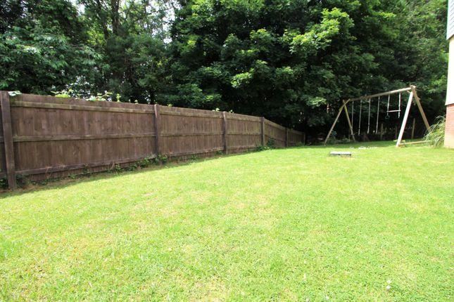 Rear Garden of Cundy Close, Plympton, Plymouth PL7