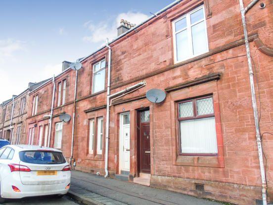 Thumbnail Flat to rent in Alexander Street, Coatbridge