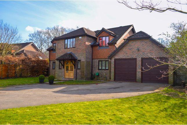 Thumbnail Detached house for sale in Longmoor Road, Liphook