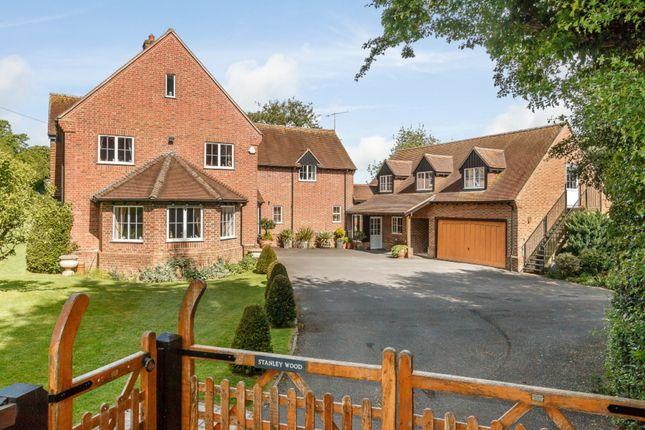 Thumbnail Detached house for sale in Lockeridge, Marlborough, Wiltshire