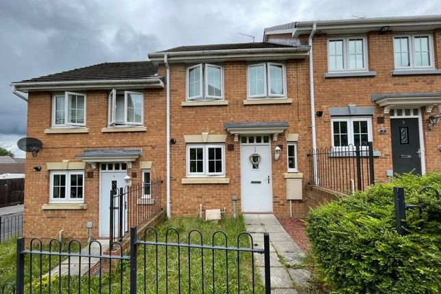 Thumbnail Terraced house for sale in Beechwood Close, Sacriston, Durham