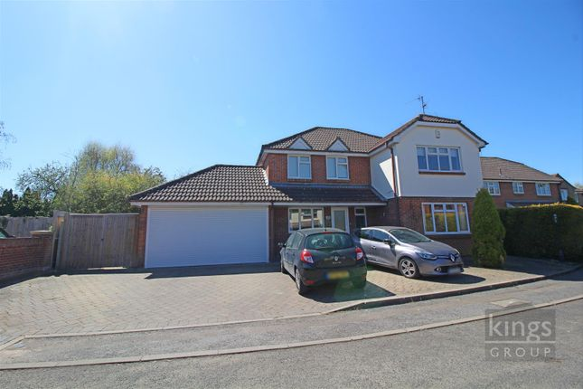 Thumbnail Detached house for sale in Wyldwood Close, Harlow