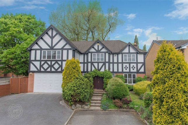 Thumbnail Detached house for sale in The Moorings, Worsley, Manchester