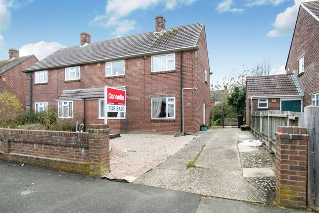 Thumbnail Semi-detached house for sale in Coburg Road, Dorchester