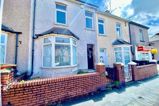 Thumbnail Terraced house to rent in Durham Road, Newport, Newport.