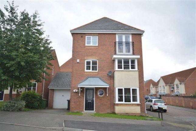 Thumbnail Detached house for sale in Passionflower Close, Bedworth