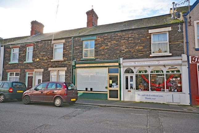 Retail premises to let in Wellington Street, Millom