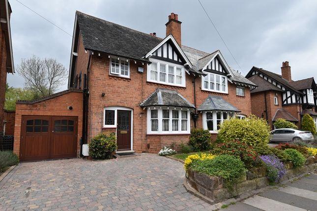 Thumbnail Semi-detached house for sale in Bournville Lane, Bournville, Birmingham