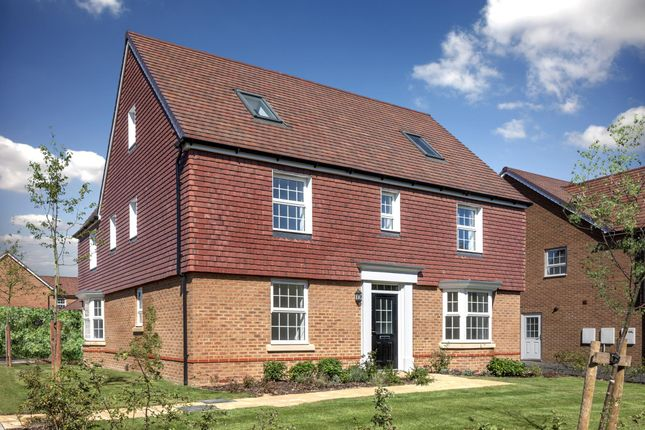 "Thumbnail Detached house for sale in ""Moorecroft I"" at Grove Road, Preston, Canterbury"