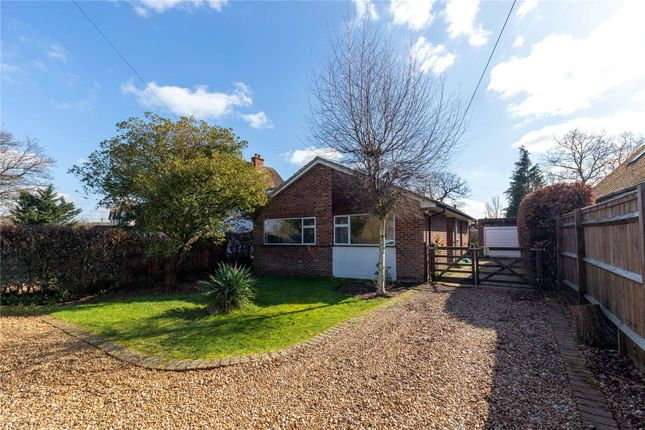 Thumbnail Detached bungalow to rent in Robin Hood Way, Winnersh, Wokingham, Berkshire
