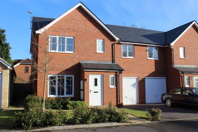 Thumbnail Semi-detached house for sale in Hazlewood Drive, Mytchett
