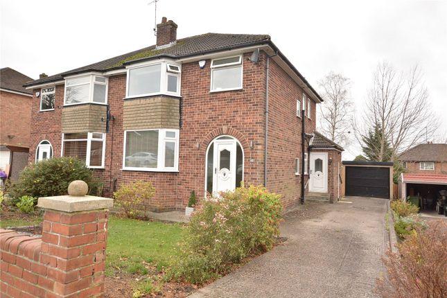 3 bed semi-detached house for sale in Primley Park Mount, Alwoodley, Leeds LS17