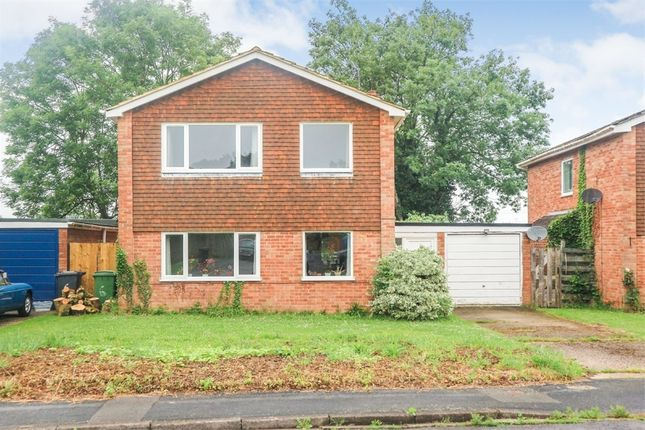 Thumbnail Detached house for sale in Willow Way, Sherfield-On-Loddon, Hook, Hampshire