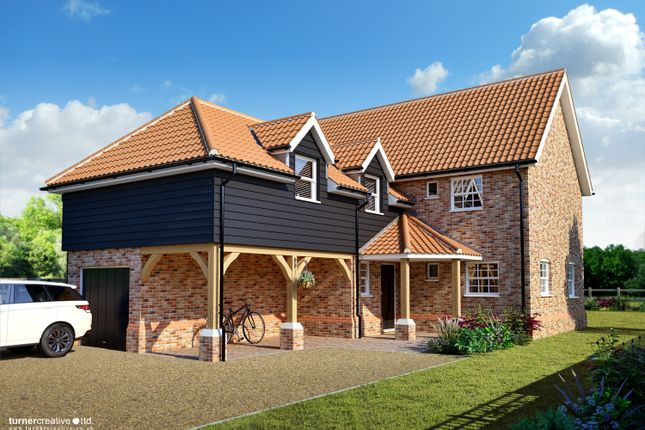 Thumbnail Detached house for sale in Northfields Lane, Westfield, Dereham