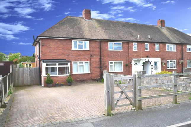 Thumbnail End terrace house for sale in Jubilee Avenue, Donnington, Telford, Shropshire